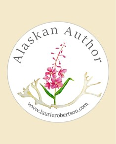 Alaskan Author Desing Light tan background